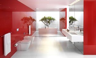 Add colour to your bathroom Canberra