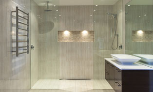 double shower Canberra